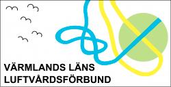 Logotyp för Värmlands läns luftvårdsförbund